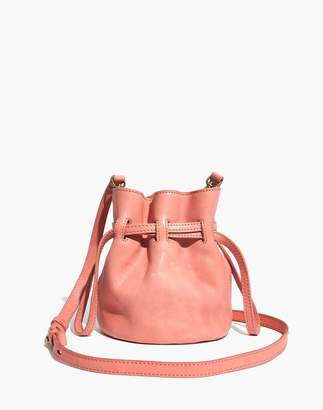Madewell The Florence Drawstring Crossbody Bag in Leather