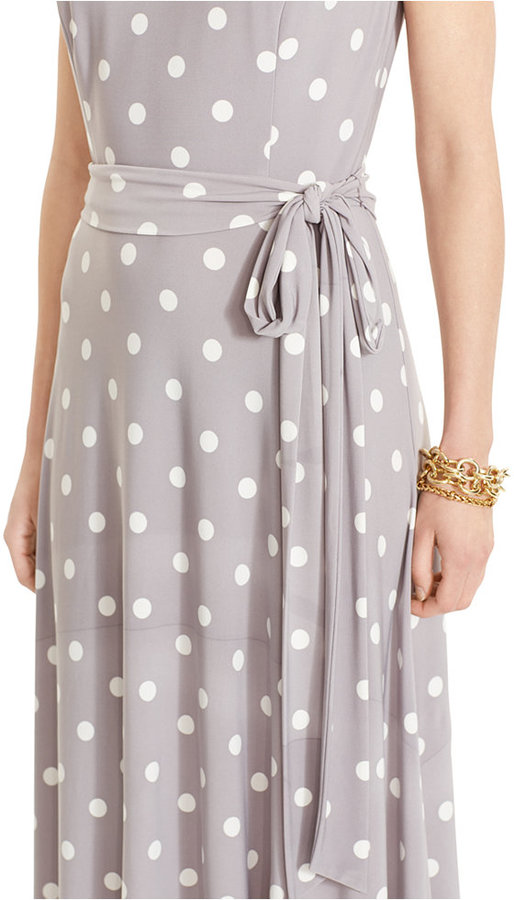 Lauren Ralph Lauren Sleeveless Polka-Dot Dress 2