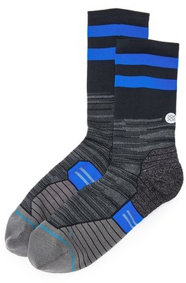 STANCE RUN Compression Crew Socks $18 thestylecure.com
