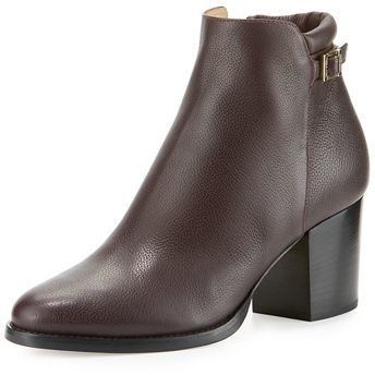 Jimmy Choo Jimmy Choo Method Leather 65mm Bootie