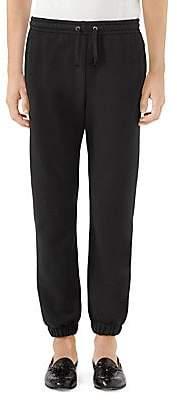 Gucci Men's Logo Jersey Jogger Pants