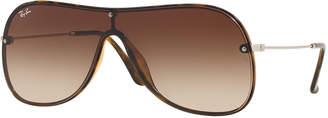 Ray-Ban Men's Lens-Over-Frame Gradient Aviator Sunglasses