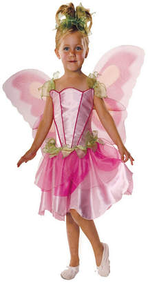 BuySeasons Pink Butterfly Fairy Girls Costume