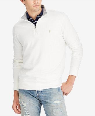 Polo Ralph Lauren Men's Jersey Half-Zip Pullover $89.50 thestylecure.com