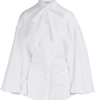 Valentino Techno-poplin shirt