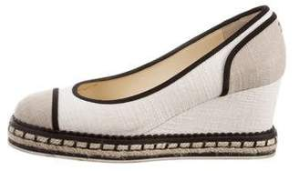 Chanel 2016 Cap-Toe Wedges