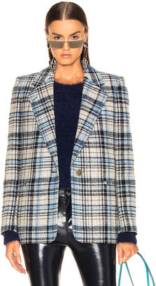 Acne Studios Plaid Suit Jacket