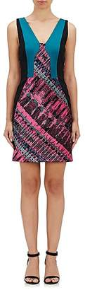 J. Mendel WOMEN'S JACQUARD SLEEVELESS SHEATH DRESS