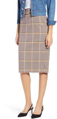 1901 Plaid Pencil Skirt