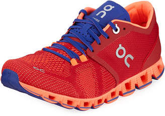 On Cloud X Knit Two-Tone Running Sneakers