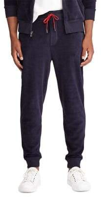 Polo Ralph Lauren Big Tall Drawstring Velour Jogger Pants