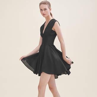 Maje Sleeveless skater dress