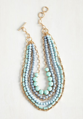 Yes You Glam Necklace in Sky $8.99 thestylecure.com