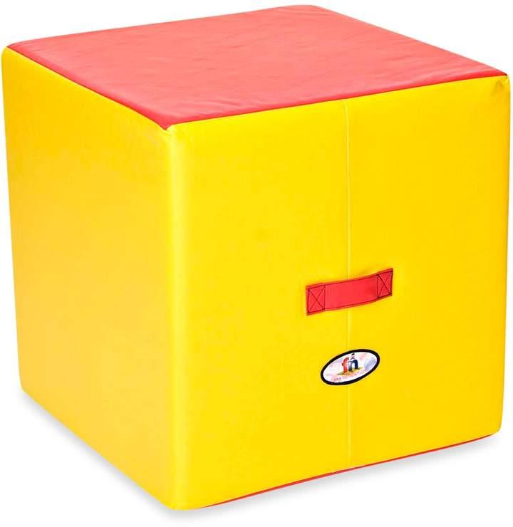 Foamcraft Foamnasium Large Block in Red/Yellow