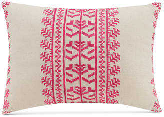 """Vera Bradley Pink Lace Embroidery 14"""" x 20"""" Decorative Pillow"""