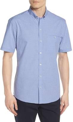 Zachary Prell Giovinco Plaid Sport Shirt