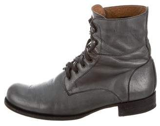 John Varvatos Round-Toe Ankle Boots