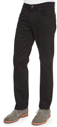 J Brand Men's Kane Straight-Leg Twill Pants, Charcoal