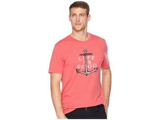 Life is Good Nautical Anchor Crusher T-Shirt