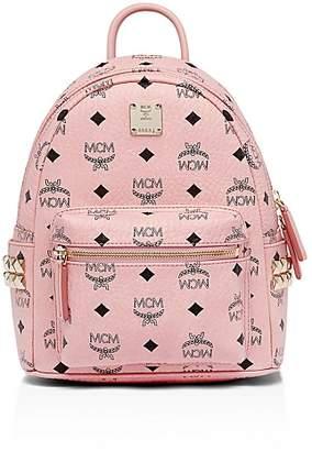 MCM Stark Side Stud Mini Backpack