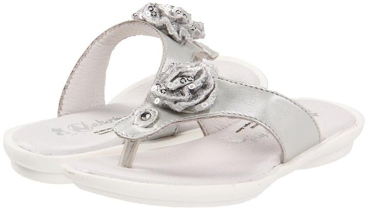 Naturino Nat. 4462 SP12 (Toddler/Little Kid/Big Kid) (Silver) - Footwear
