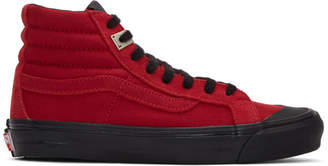 Vans Red Alyx Edition OG Style 138 LX High-Top Sneakers