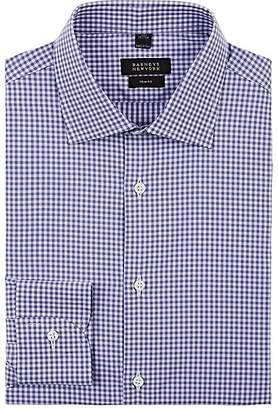 Barneys New York Men's Gingham Cotton Poplin Dress Shirt
