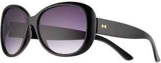 Lauren Conrad Belay Retro Square Wrap Sunglasses - Women