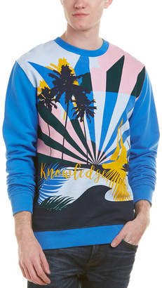 Knowledge Cotton Apparel Knowledgecotton Printed Sweater