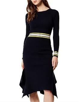 Karen Millen Knitted Fishtail Dress