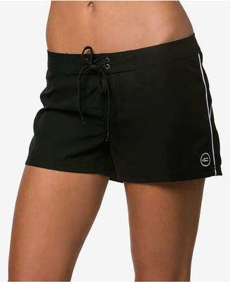 "O'Neill Juniors' Salt Water Solid 3"" Board Shorts Women Swimsuit"