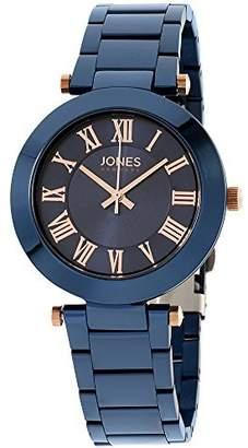 Jones New York Women's 34mm Steel Bracelet & Case Quartz Watch 11794N528-007