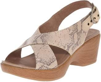 Dansko Women's Jacinda Wedge Sandal, 39 EU/8.5-9 M US