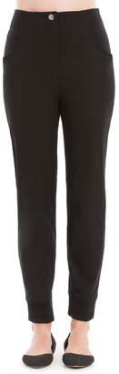 Max Studio High Waisted Skinny Jogger Trousers