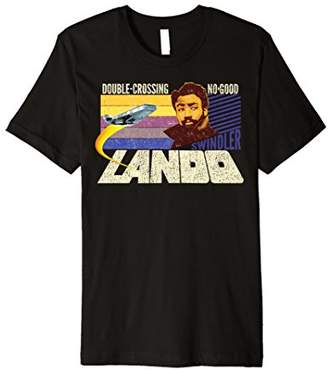 Star Wars Han Solo Movie Lando Double-Cross Premium T-Shirt