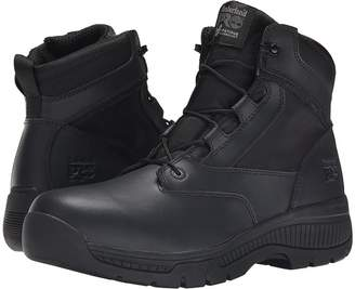 Timberland 6 Valortm Duty Soft Toe Side-Zip Men's Work Lace-up Boots