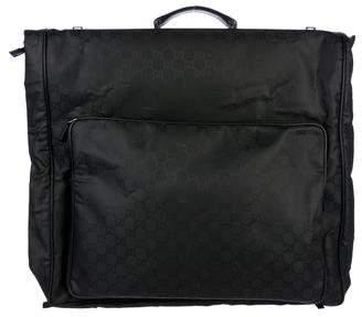 Gucci GG Nylon Garment Bag
