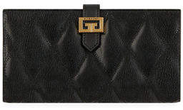 Givenchy GV3 Large Quilted Leather Continental Wallet