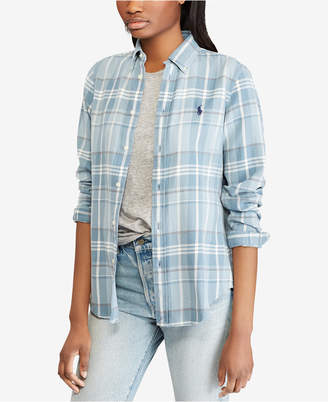 Polo Ralph Lauren Classic Fit Plaid Cotton Shirt