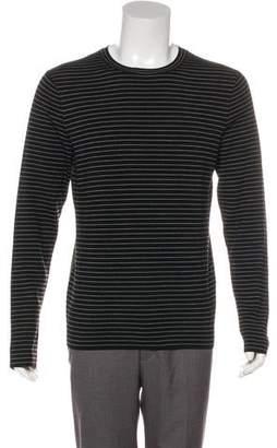 Christian Dior Striped Virgin Wool Sweater
