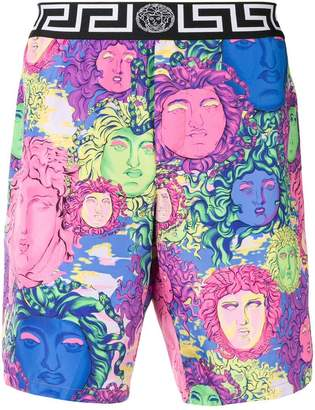 Versace Medusa printed trunks