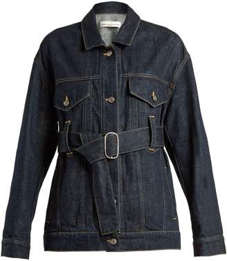 Golden Goose Viola waist-belt denim jacket