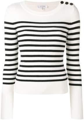 Frame striped sweater