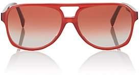Celine Women's Oversized Aviator Sunglasses - Stawberry Red