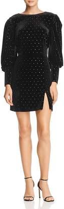 Rebecca Minkoff Gwen Embellished Velvet Dress