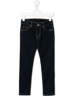 John Richmond Junior Rich print skinny jeans