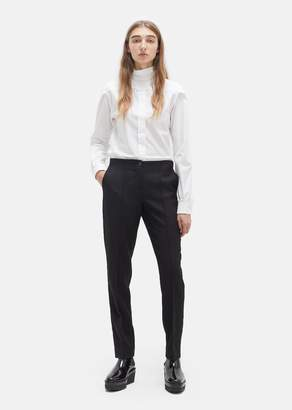 Yang Li Slim Cut Up Trousers Black