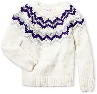 6e8e28770 Girls Fair Isle Sweater - ShopStyle
