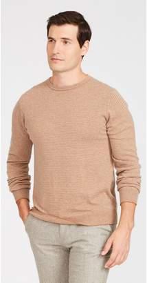 J.Mclaughlin Caleb Sweater in Hairline Stripe
