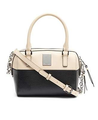 Calvin Klein Tonya Calf Leather Mini Satchel